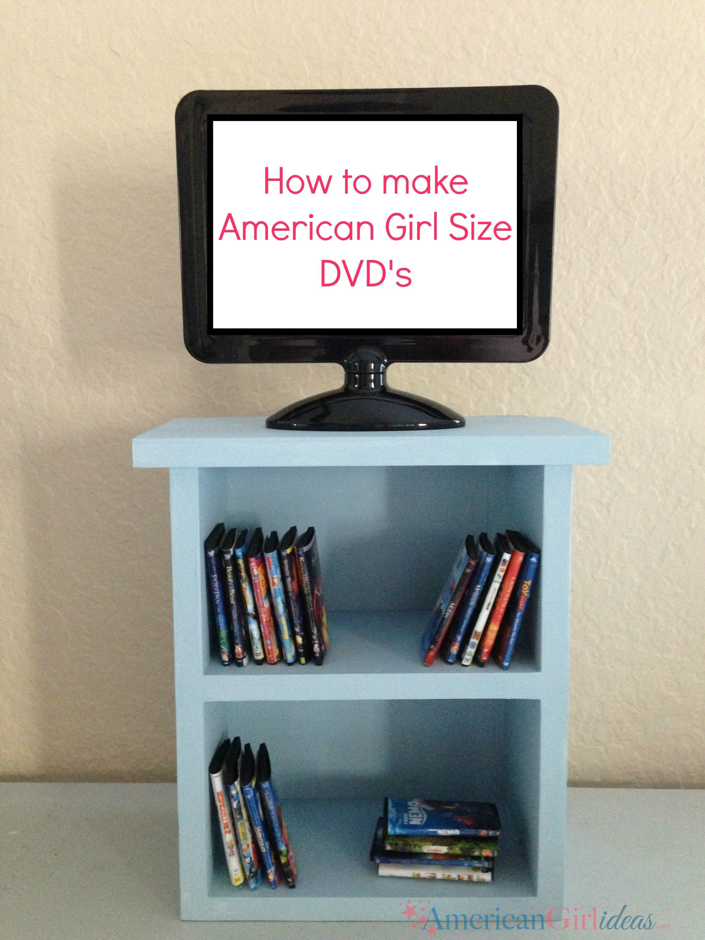 American Girl Dvds Tv Is A Picture Frame Bought At