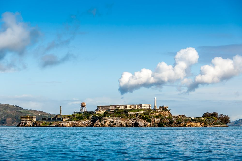 The Alcatraz Island Housed A Maximum Security Federal Prison From