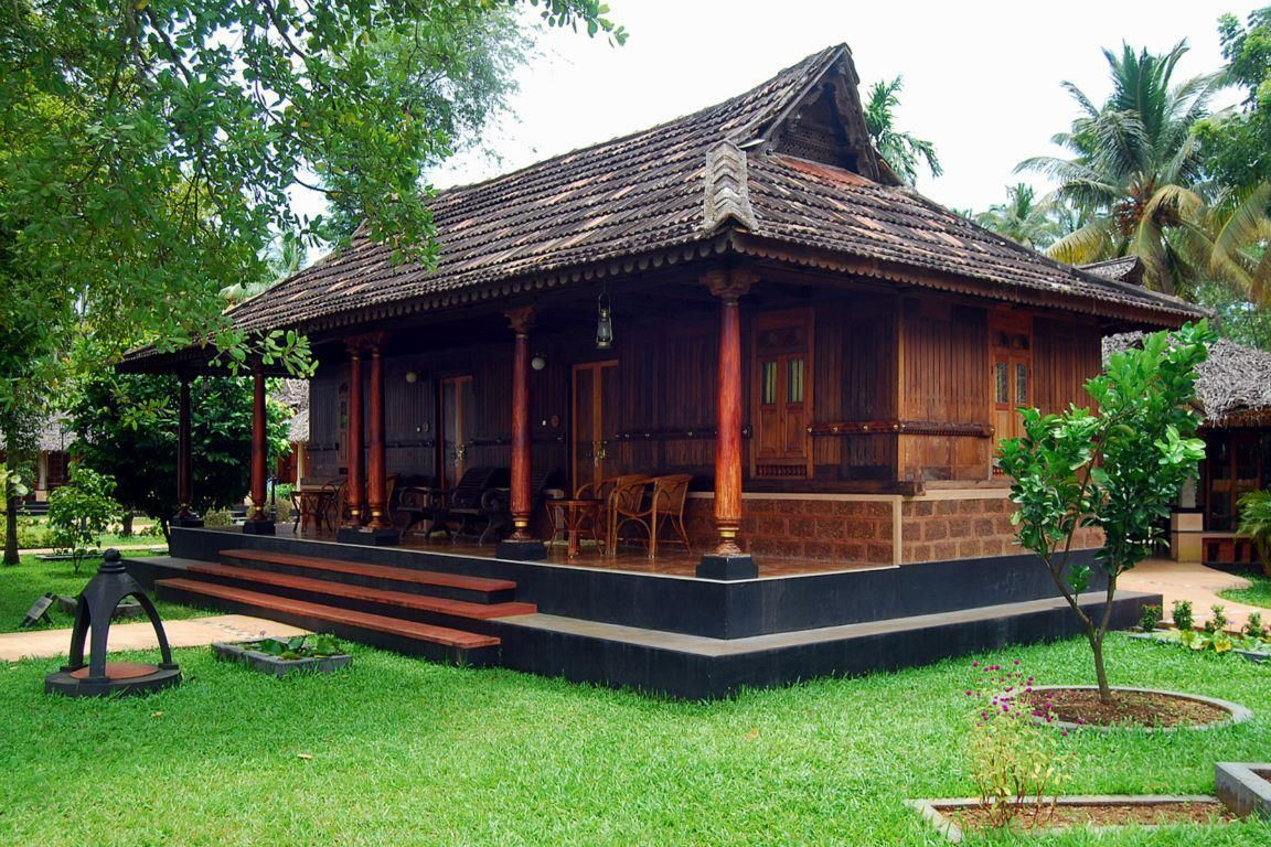 kerala home Kerala house design, Village house design