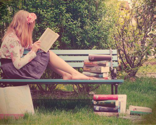 Lost in my books