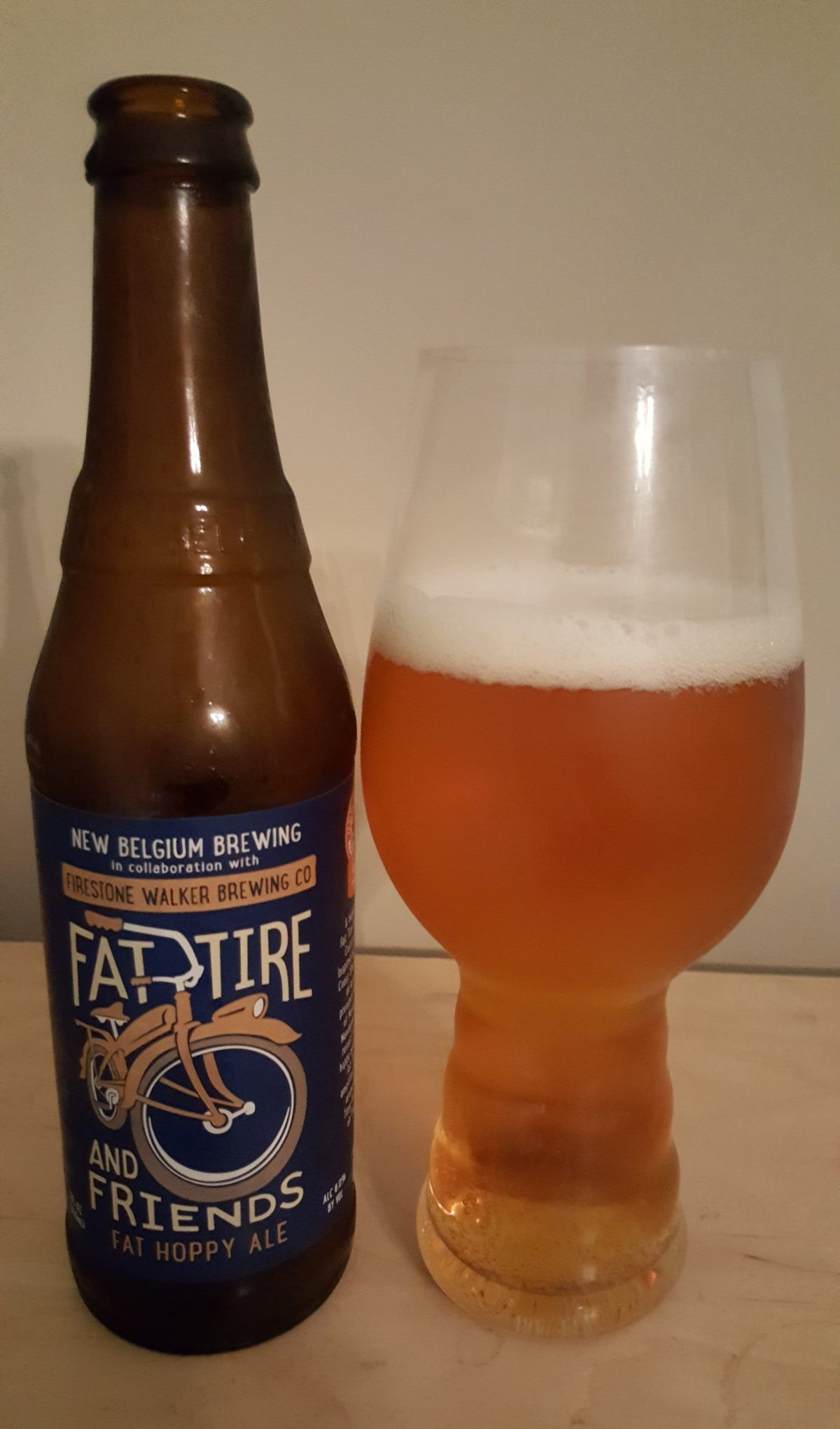 Fat Tire And Friend S Fat Hoppy Ale Is A 6 Abv Amber In