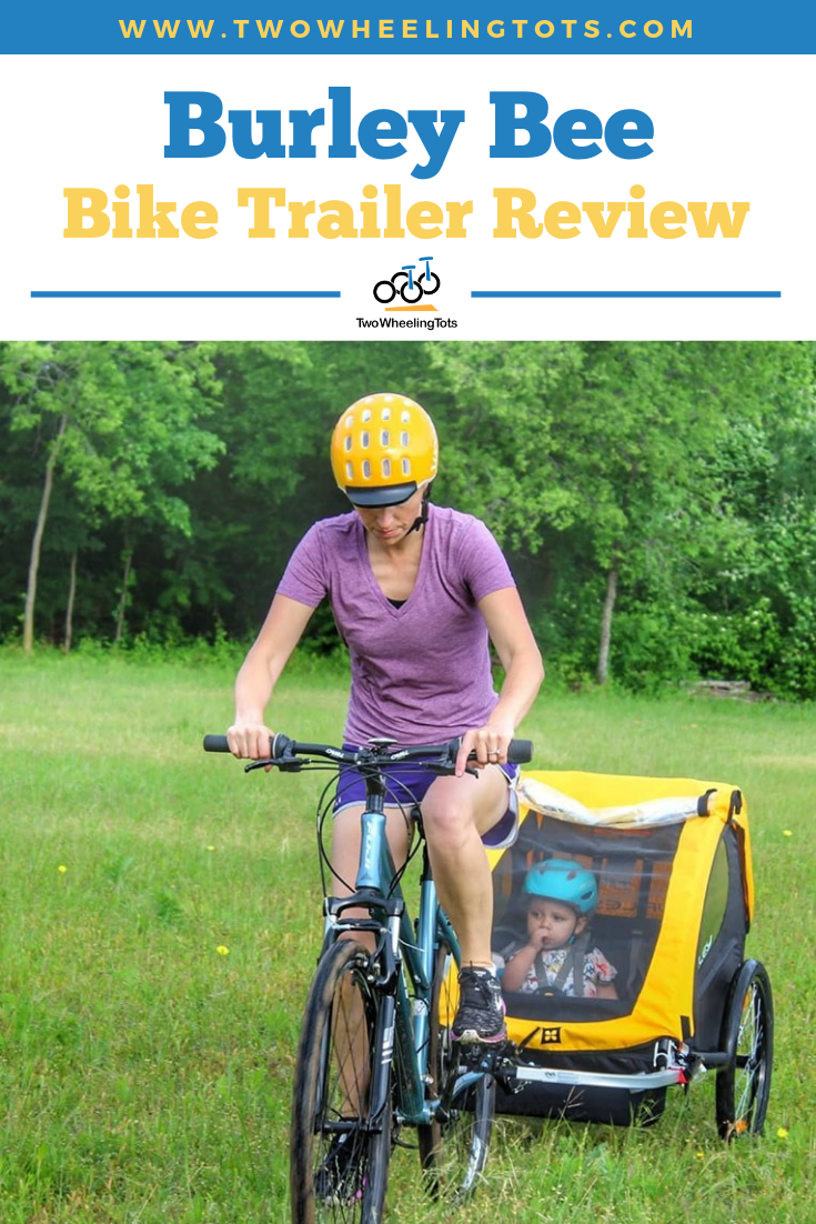 Burley Bee Bike Trailer Review Including The 2019 Updates Bike