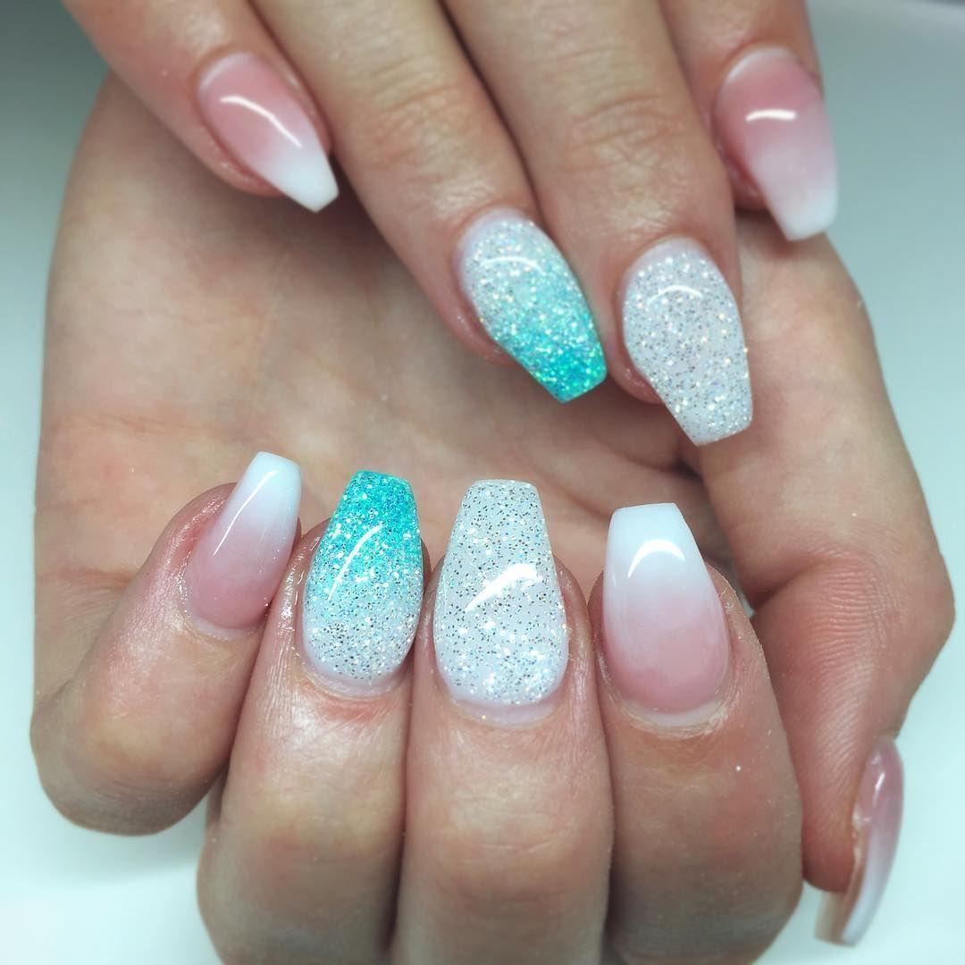 Glitter fade using \