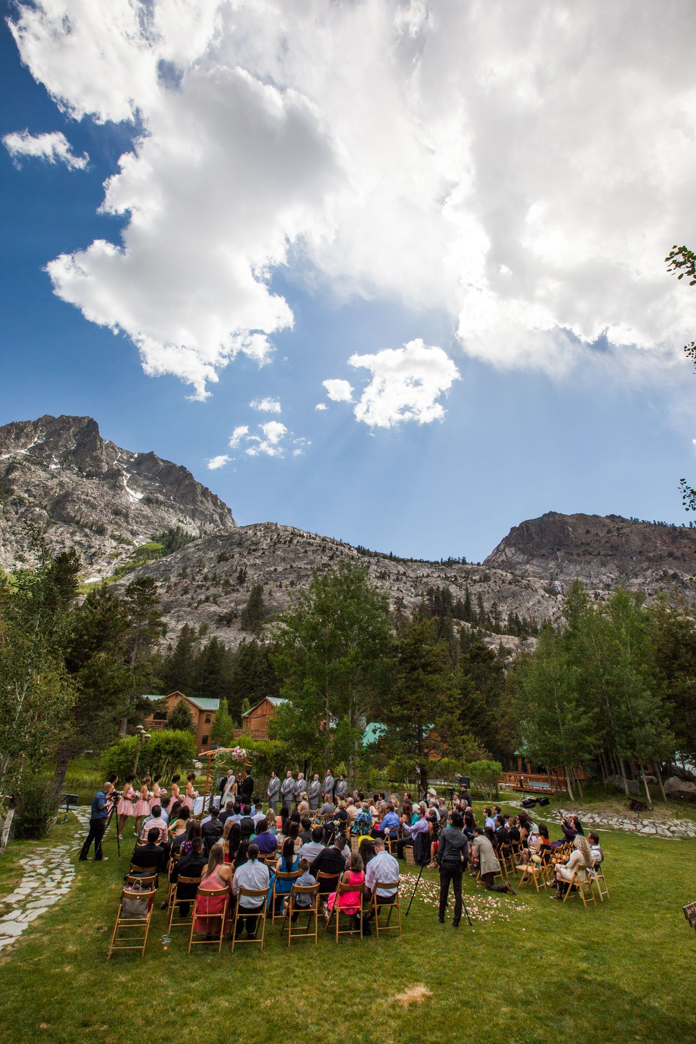 Double Eagle Resort And Spa Wedding June Lake Ca