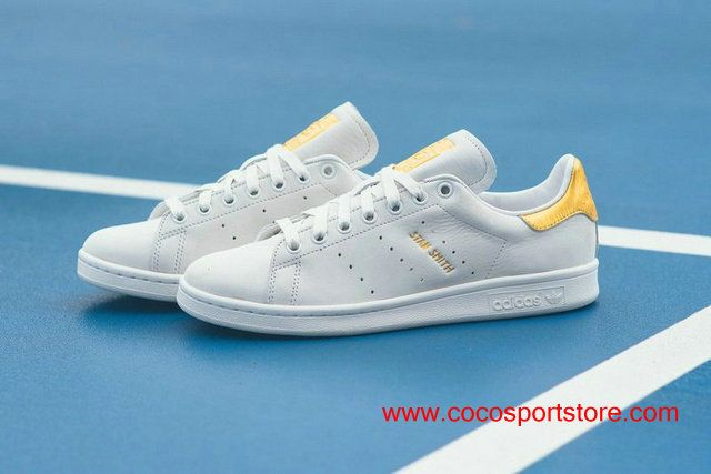 wholesale dealer 84a4b 866e7 Fathion Womens Adidas Stan Smith 999 24K Gold White S80506 ...
