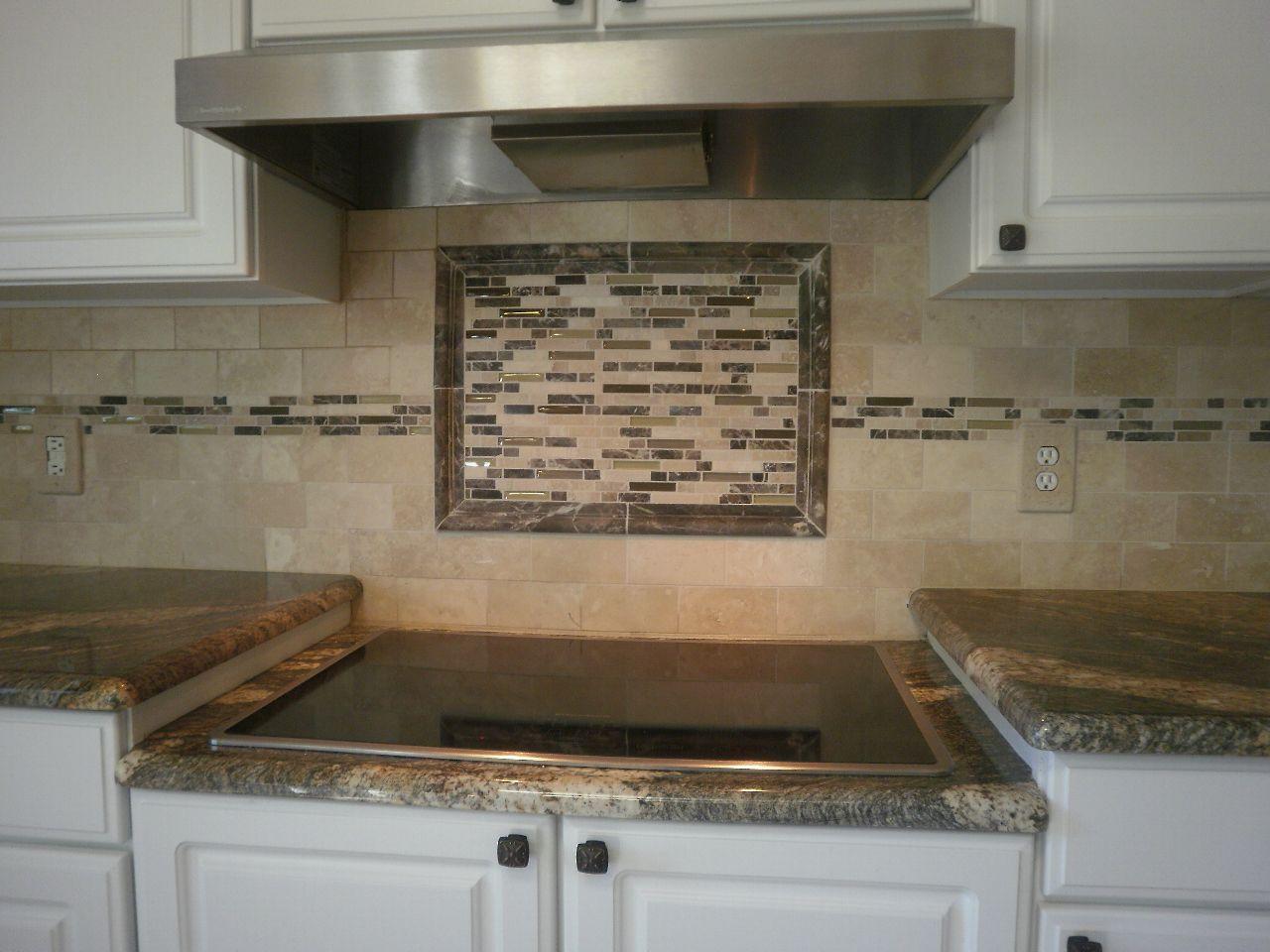 glass mosaic kitchen backsplash ideas | glass tile kitchen ...