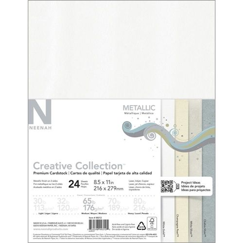 Neenah Metallic Creative Collection Premium Cardstock 8 5 X 11