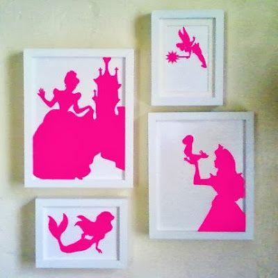 de jolis silhouettes de conte de fée Deco Pinterest