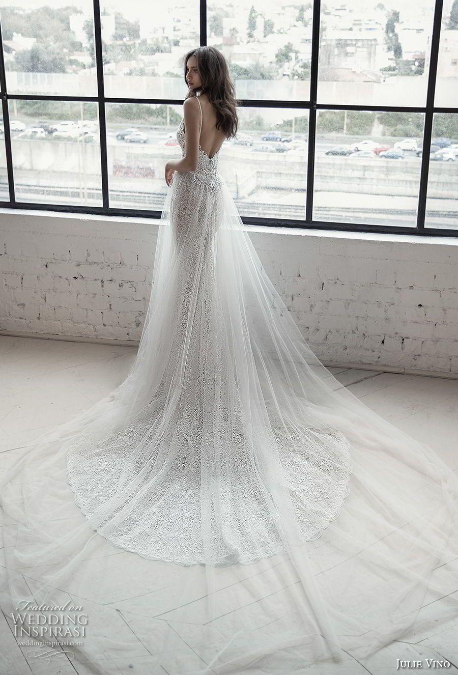 Lace dress bell sleeves june 2019 Romanzo by Julie Vino  Wedding Dresses u The Love Story Bridal