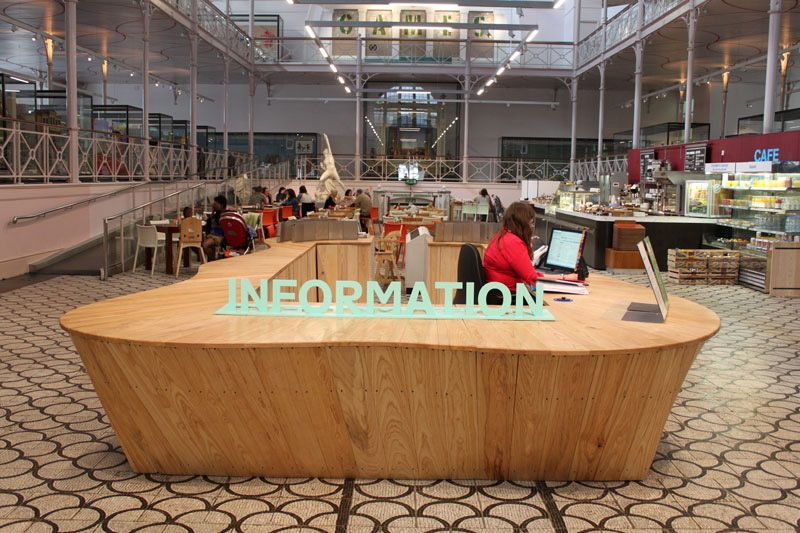 Information Desk Design museum of childhood information desk | spaces | pinterest