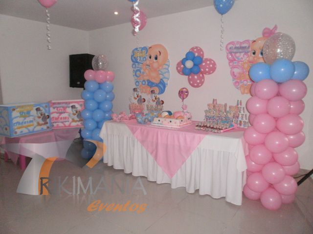 decoracion baby shower para ni a globos buscar con google baby