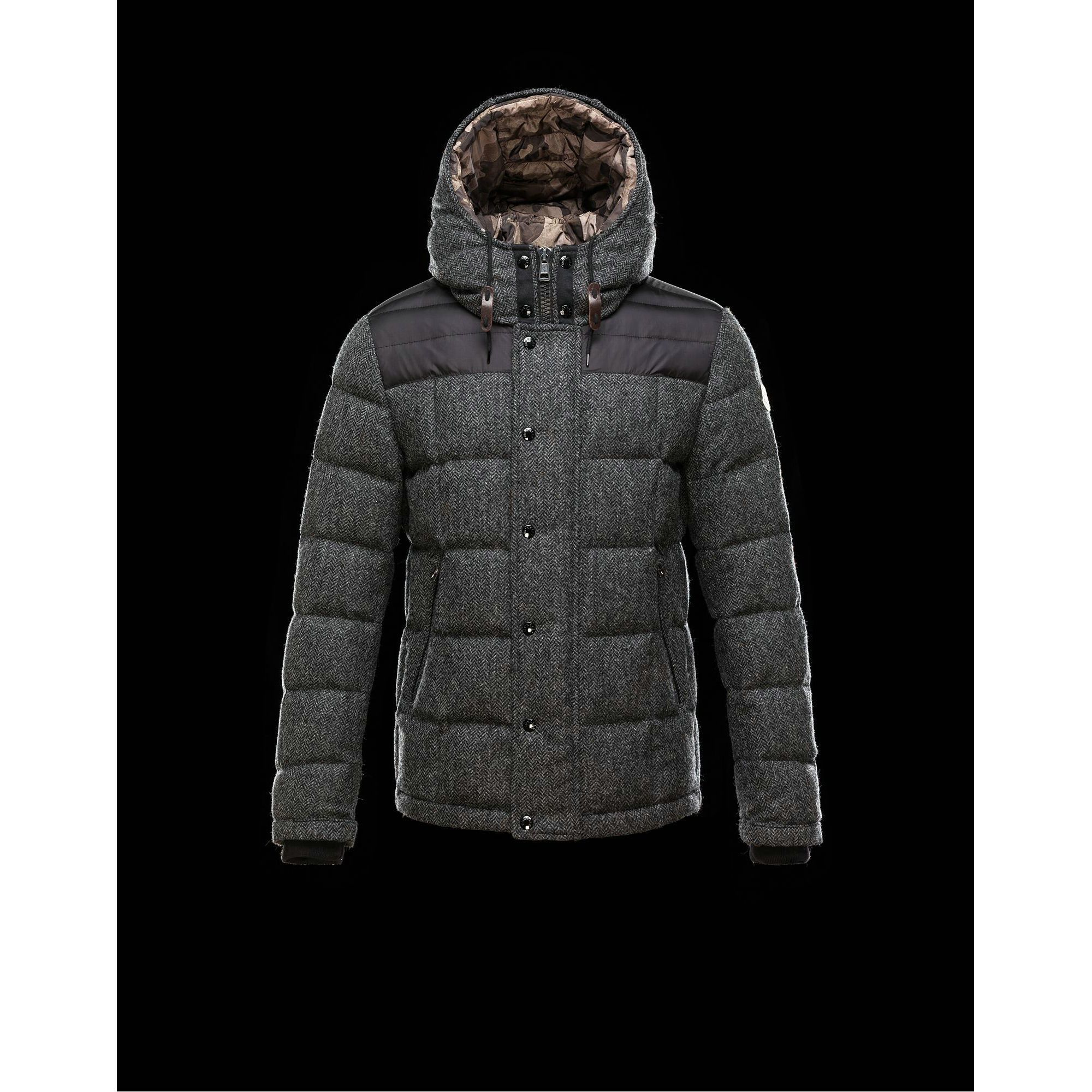 76f26d1bb42a 2015 New! Moncler GUYENNE Featured Down Jackets Mens Gray   Herve ...