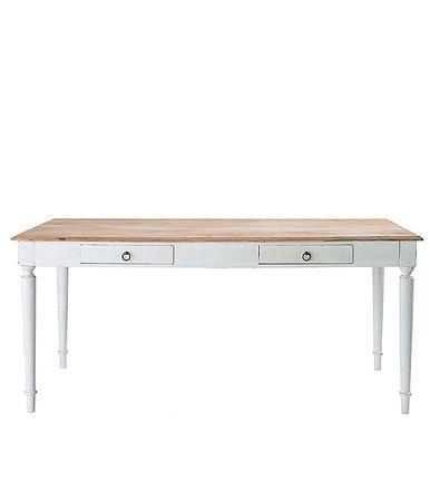 best bergerac table maisons du monde table en bois pieds. Black Bedroom Furniture Sets. Home Design Ideas
