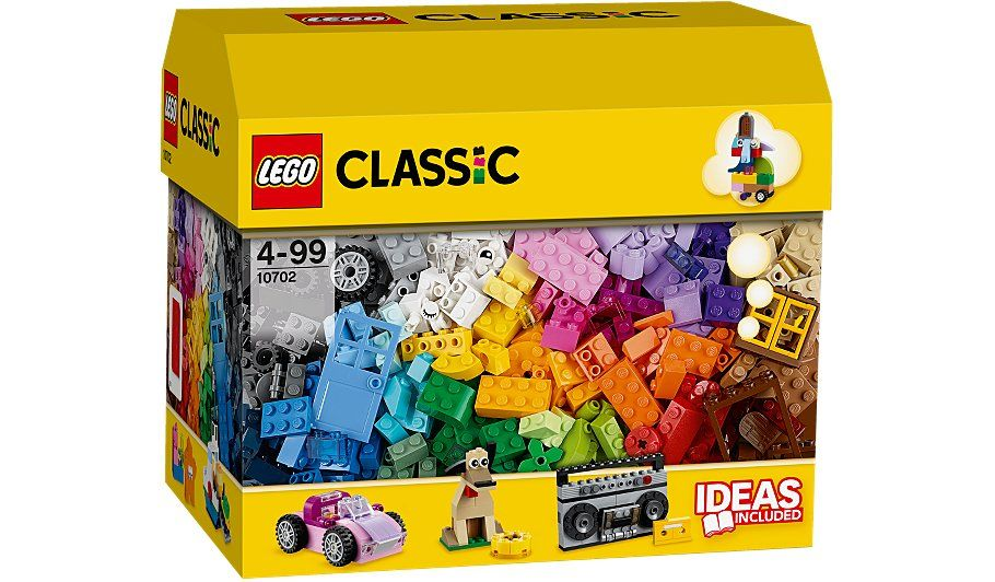 LEGO Classic - Creative Building Set With Over 500 Pieces - 10702 ...