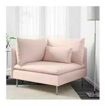 Incredible Ikea Corner Section Soderhamn Samsta Light Pink Home Beatyapartments Chair Design Images Beatyapartmentscom