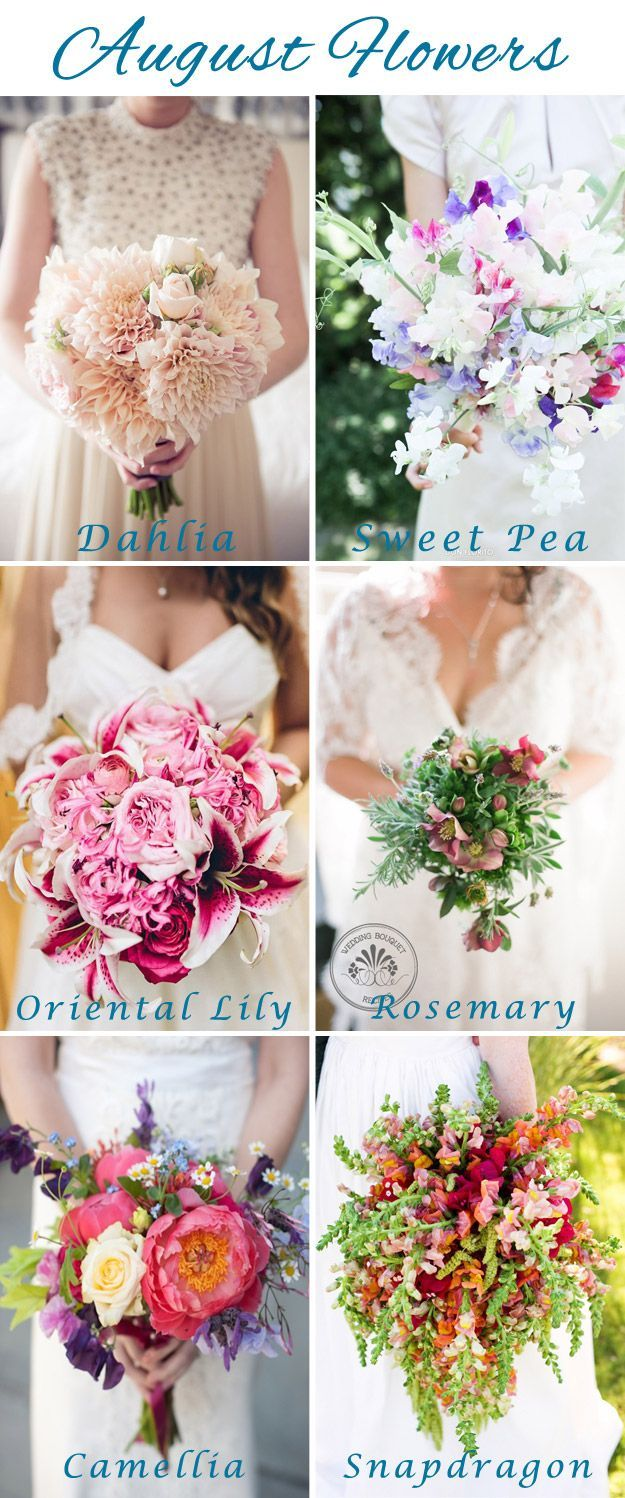 September Flowers | Lucky in Love Wedding Blog #weddingflowers ...