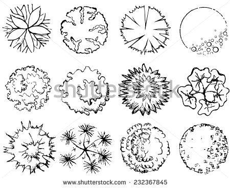 Landscape Architecture Drawing Symbols landscape symbols - szukaj w google | projektowanie | pinterest