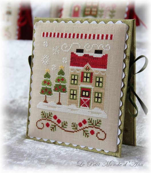 Christmas Tree Farm Southern California: Xmas Cross Stitch, Cross