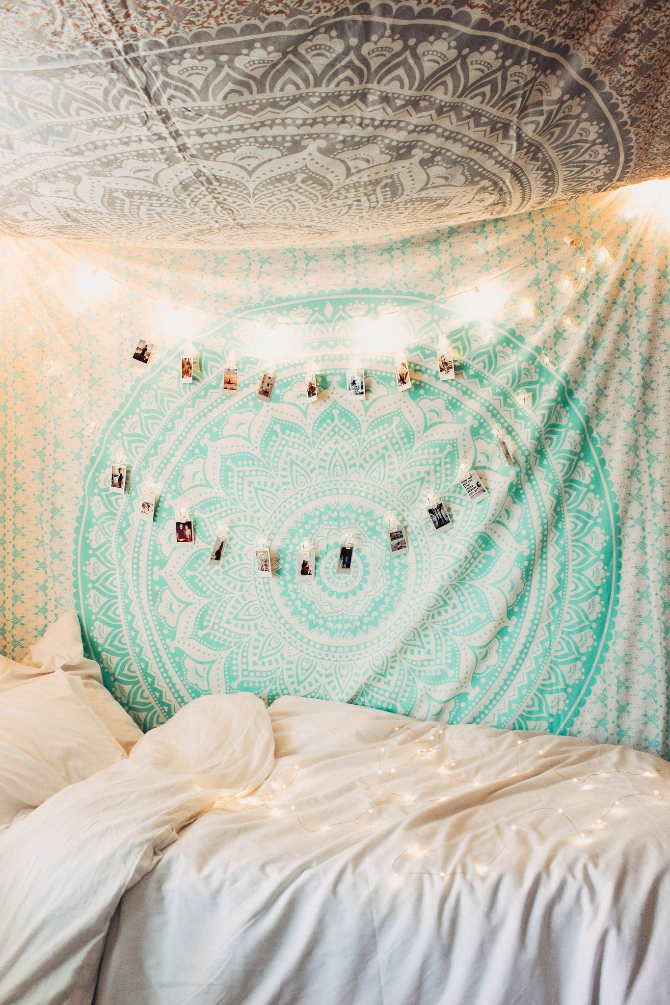 Mermaid Vibes Mandala Tapestry With Images Tapestry Bedroom
