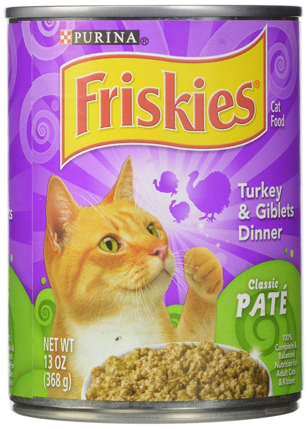 Purina 12pack Friskies Turkey And Giblets Wet Cat Food 13ounce 3 X Pack Of 12 Find Out More About The Great Product At Friskies Canned Cat Food Wet Cat Food