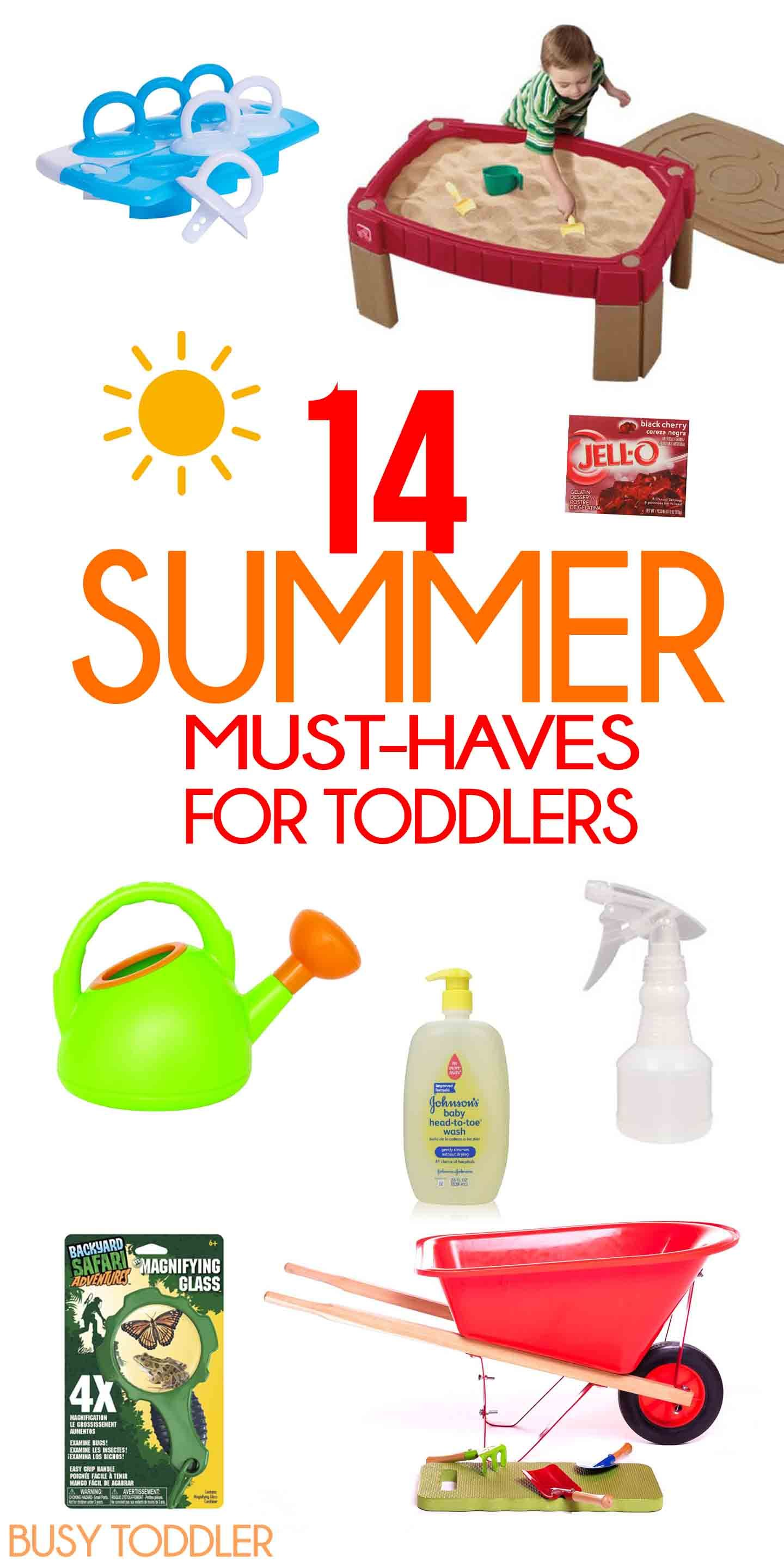 Summer Must Haves for Toddlers