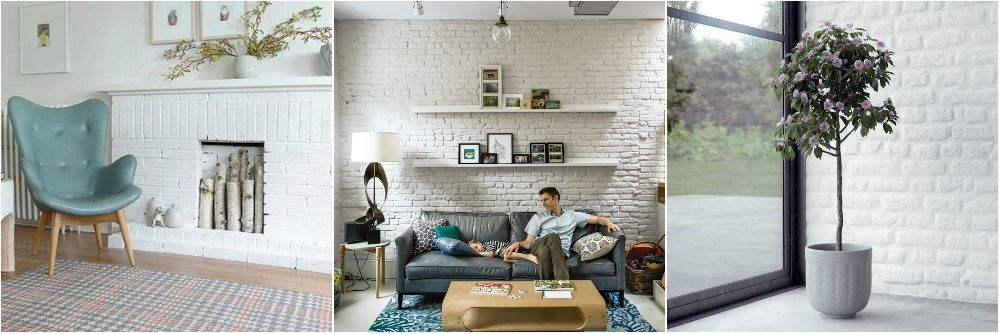 Best White Brick Wall Ideas On Internet Decor
