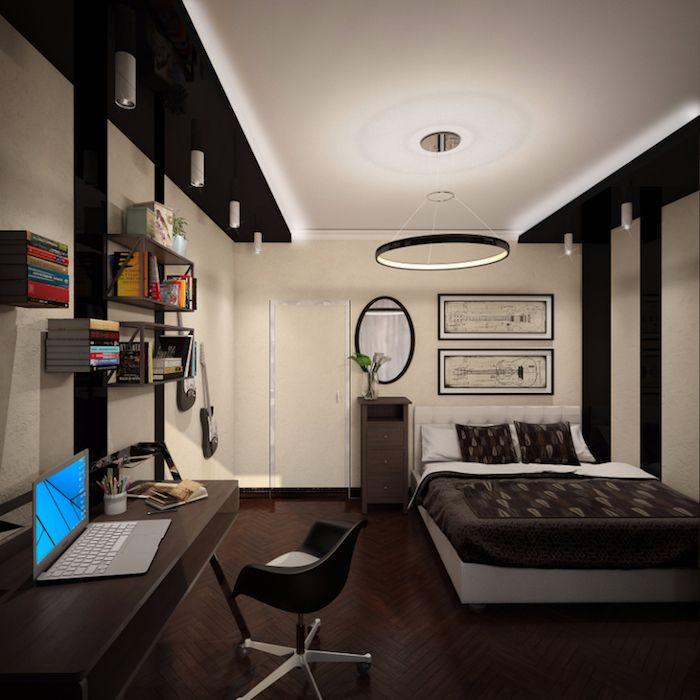 1001 id es comment am nager la chambre ado design d int rieur pinterest. Black Bedroom Furniture Sets. Home Design Ideas
