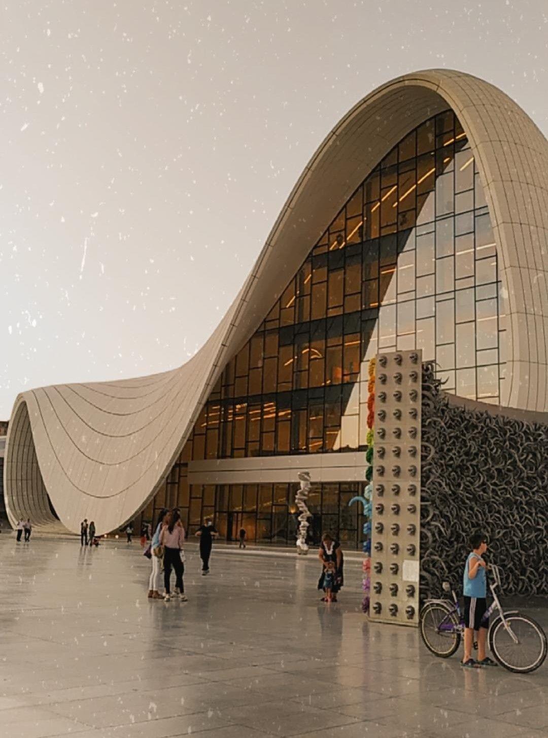 Haydar Aliev Center In 2020 Azerbaijan Baku Azerbaijan Baku