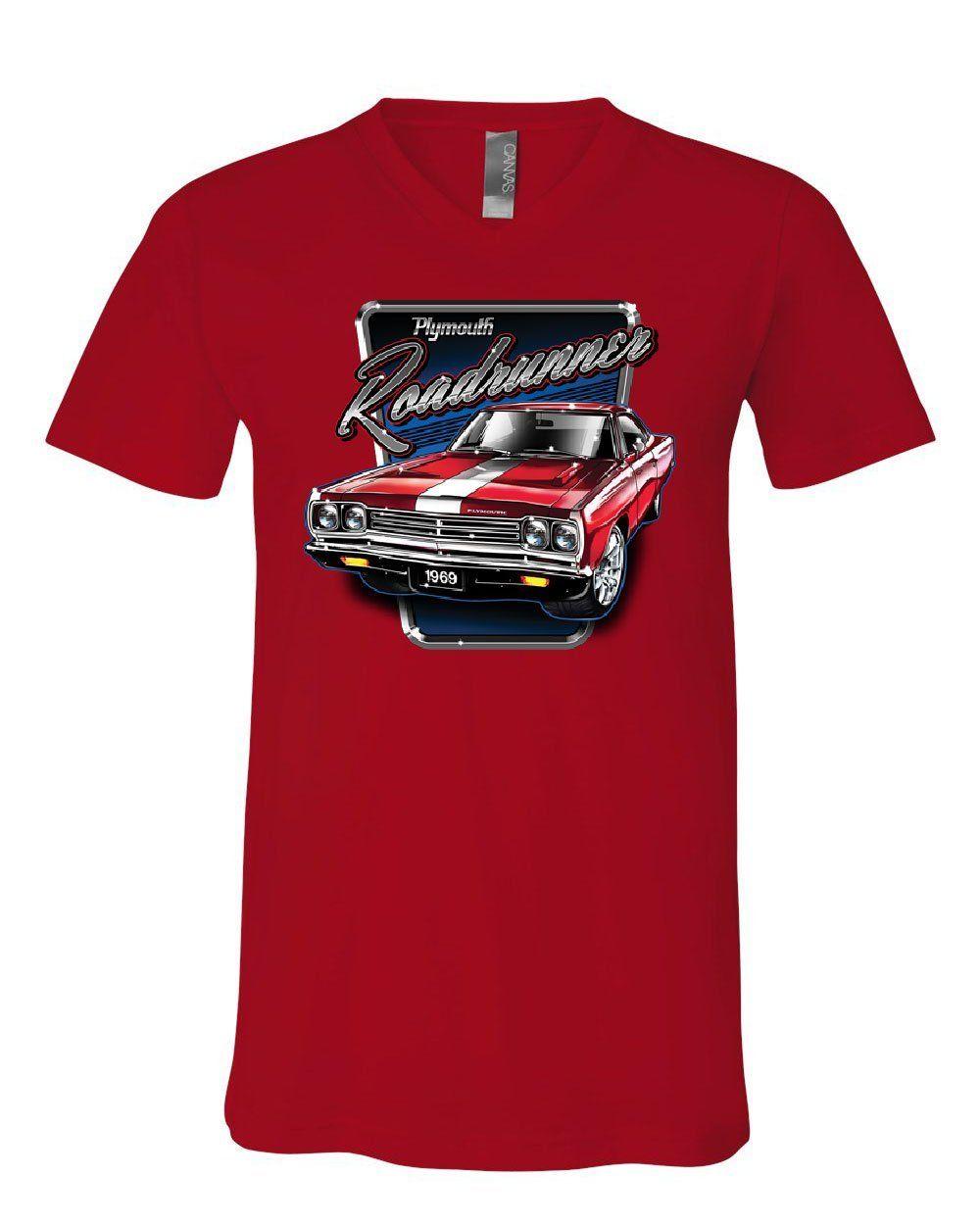 Tee Hunt Plymouth Roadrunner Hoodie American Muscle Car Classic Route 66 Sweatshirt