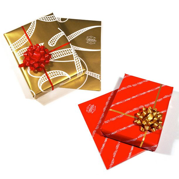 Cursing Holiday Gift Wrap 8 Pack