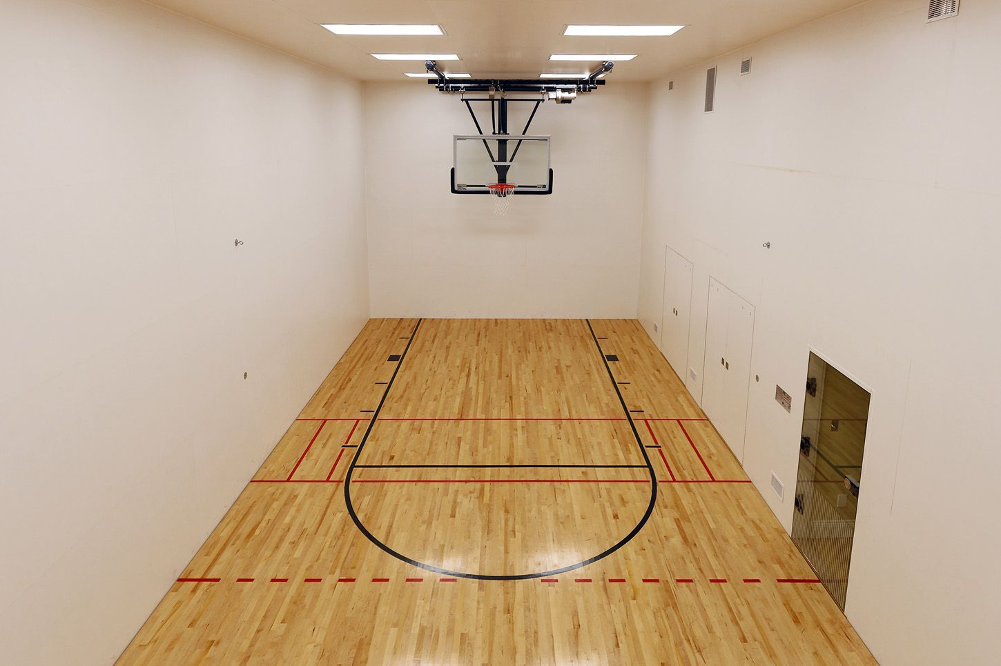 This 12 5 Million Mclean Mansion Has A Ballroom And An Indoor Basketball Court Washingtonian Dc Indoor Basketball Court Indoor Basketball Home Basketball Court