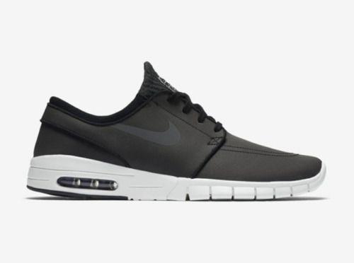 low priced e2cd0 5d1c5 Nike SB Stefan Janoski Air Max L Skateboarding Shoes Mens 11.5 Black 685299  006  Nike  Skateboarding