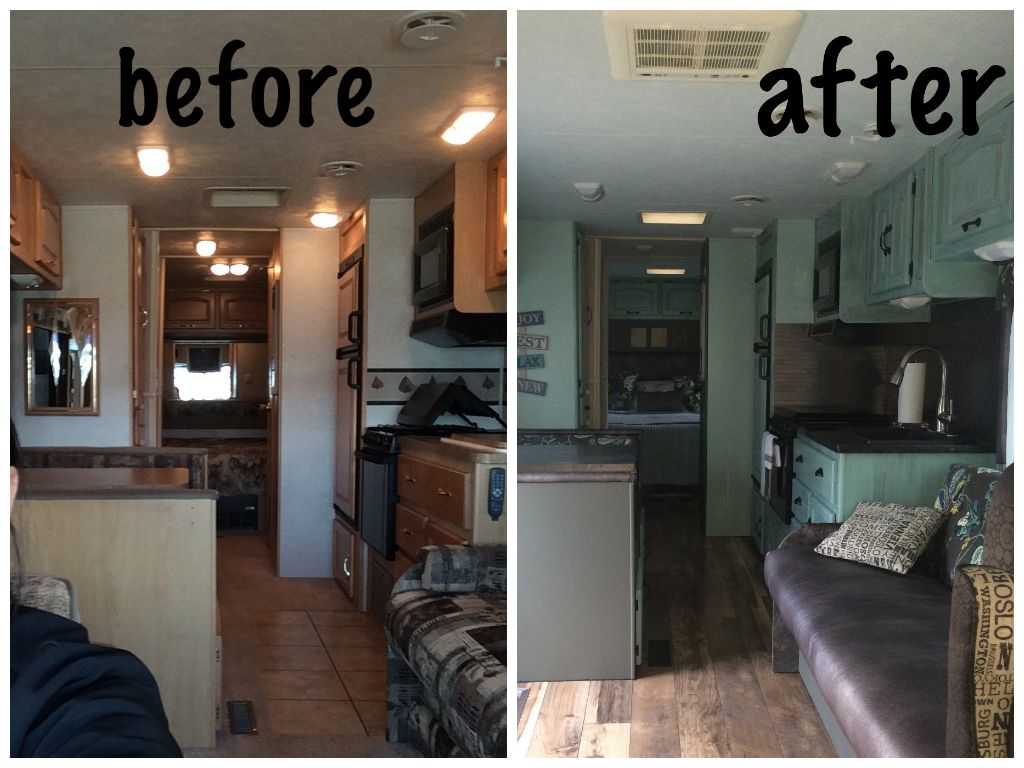 Rv before after