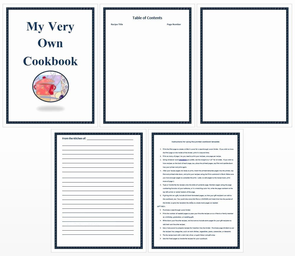 Free Recipe Book Template Elegant Free Printable Recipe Cards Mbaksarah Best Recipe Book Templates Cookbook Template Make Your Own Cookbook