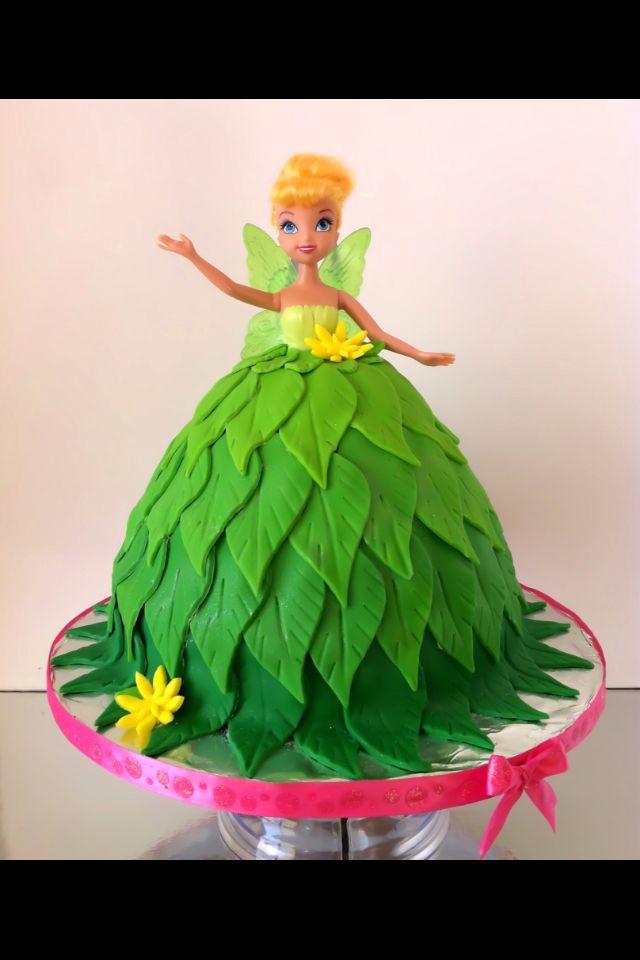 Tinkerbell Doll Cake