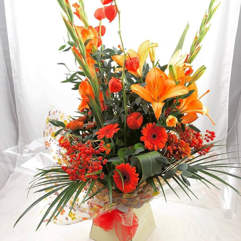Pumpkin spice bouquet anyone?😜😂 Flowers