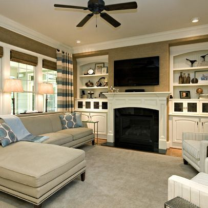 Pin By Alex Giese On Fireplace Traditional Family Rooms Family Room Design Livingroom Layout