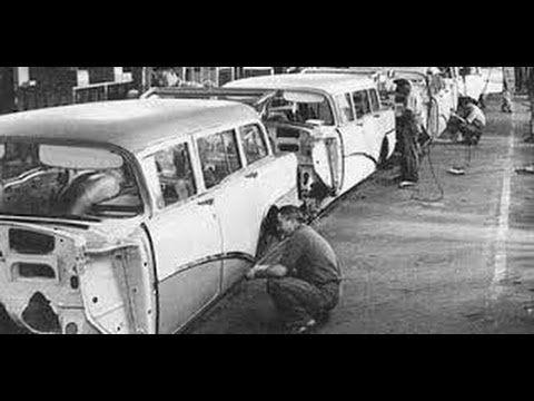 General Motors Assembly Plant 1954 Buick Oldsmobile Pontiac Buick Oldsmobile Classic Cars Trucks