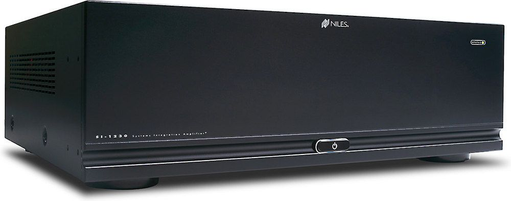 Niles Si 1230 Series 2 12 Channel Multi Room Power Amplifier Home Theater Setup Home Theater Installation Home Theater