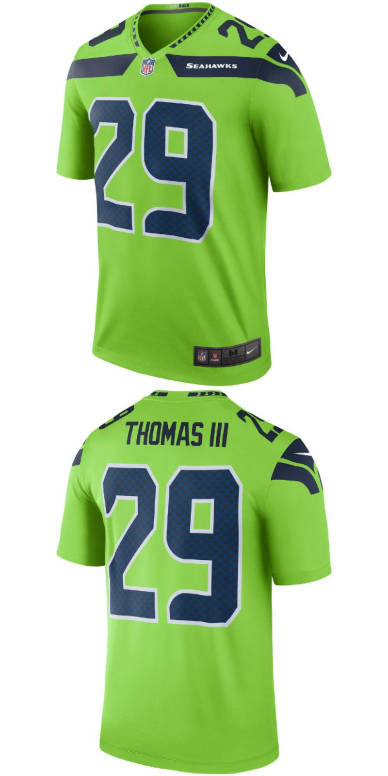 UP TO 70% OFF. Earl Thomas Seattle Seahawks Nike Color Rush Legend  for sale