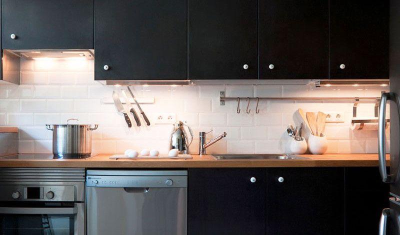 #Küche Designs Kleine Küche: Wie Man Den Raum Visuell Vergrößert  #neueKüchen #KücheDekoration
