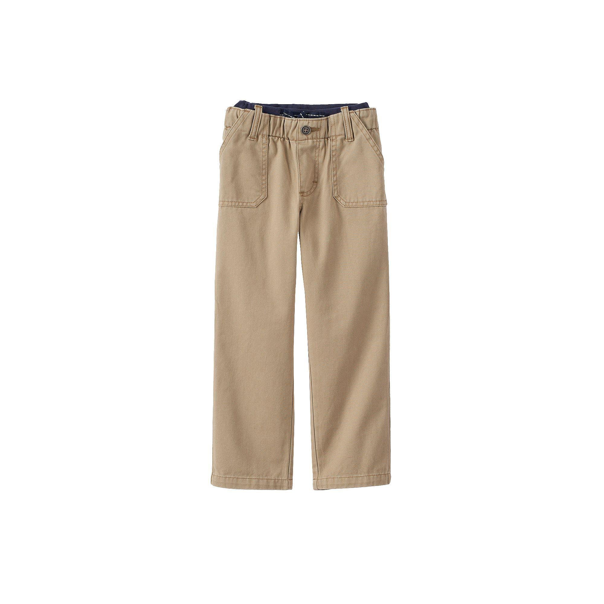 Boys 4-7x Lee Jeans, Size: 4  Ave Med, Beig/Green (Beig/Khaki)