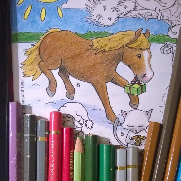 Kahdeksas luukku - Tarinatädin joulukalenteri