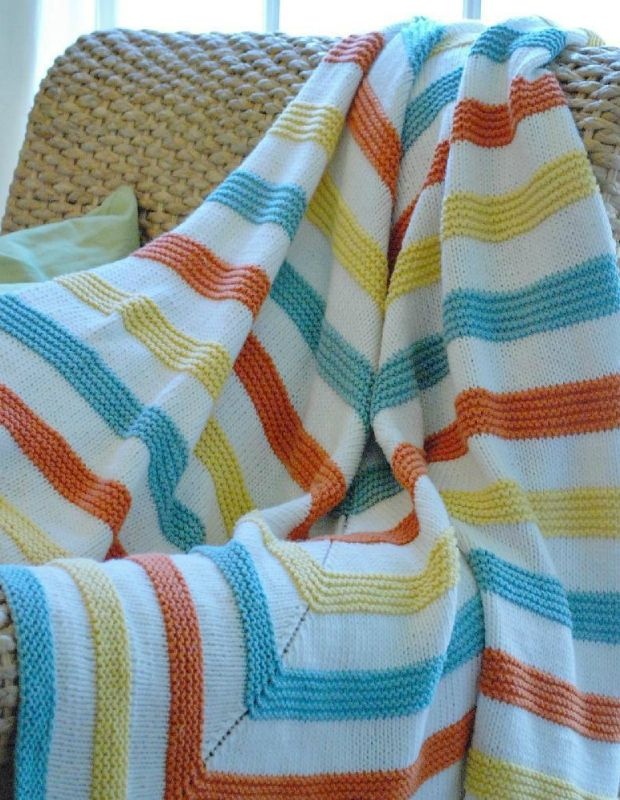 The best modern baby blanket knitting patterns for all levels ...