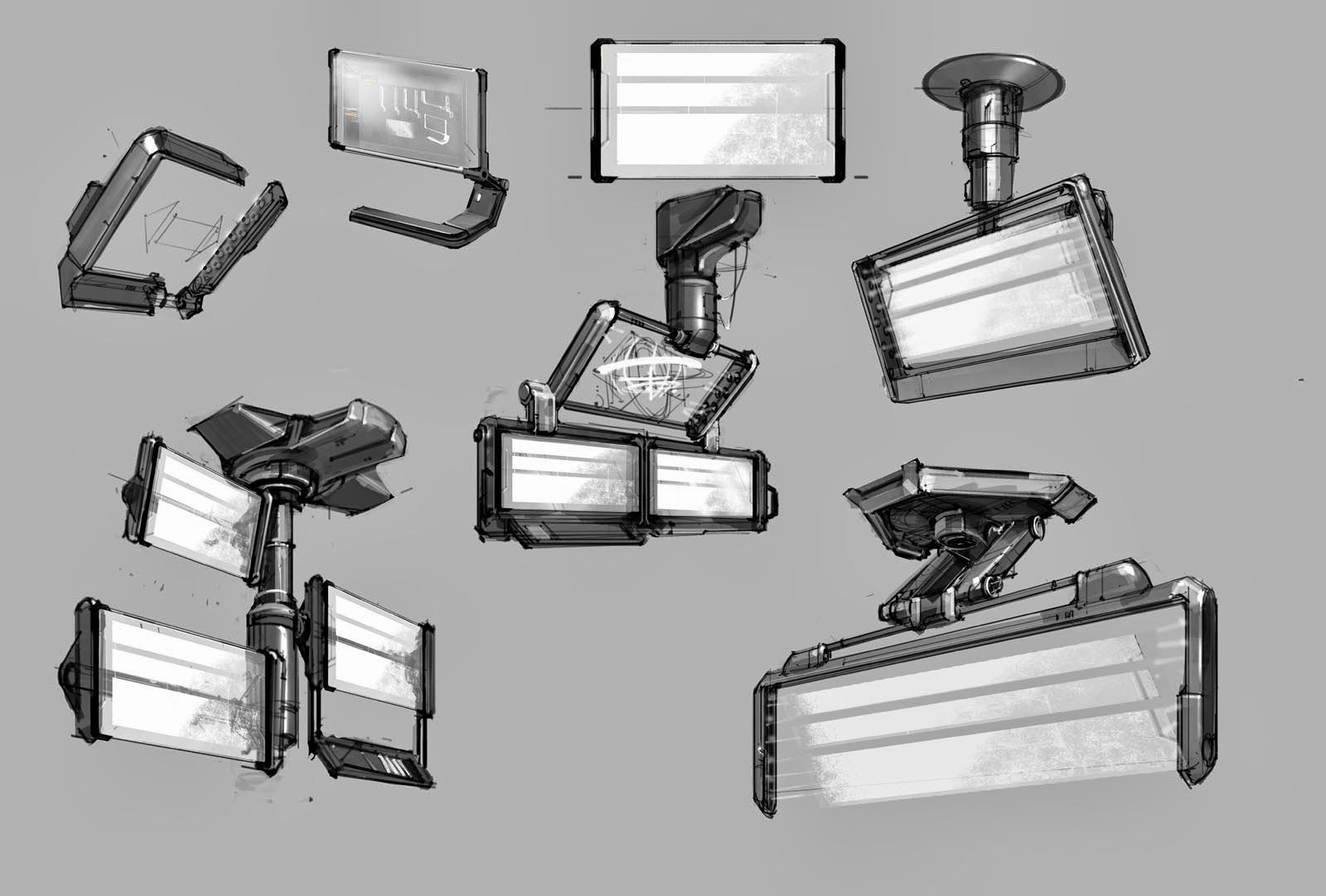 Potential Things Sci Fi Props Concept Game Concept Art