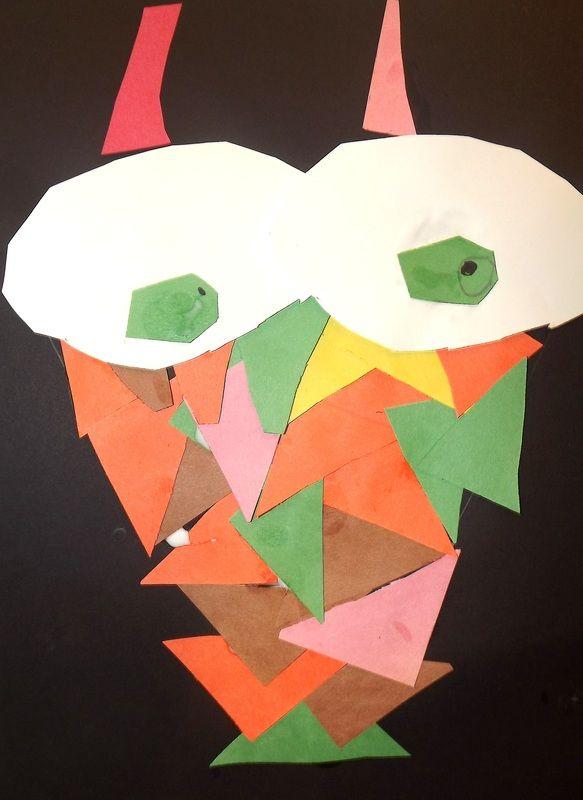 First Grade - Triangle Owls