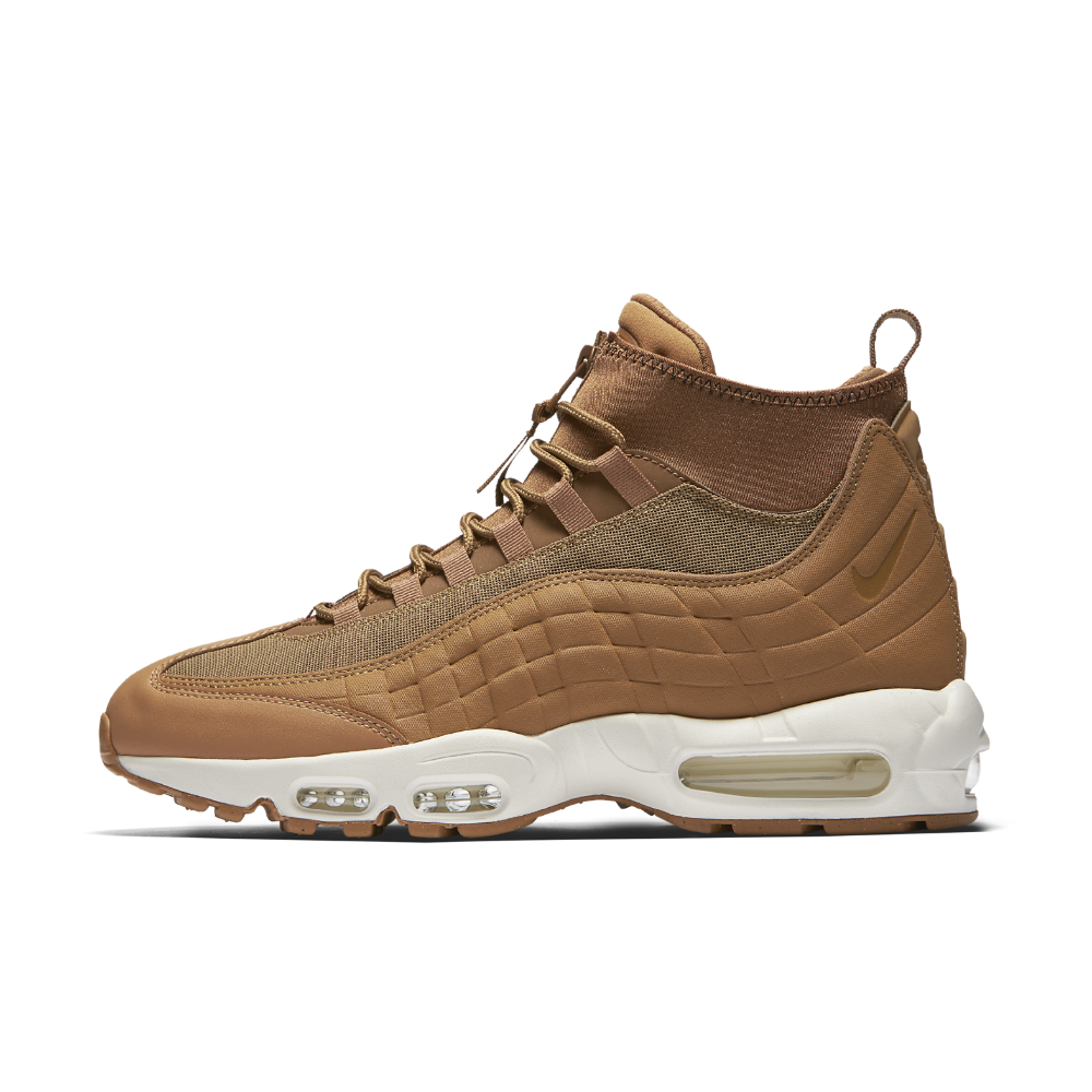 save off ccea8 52c28 Nike Air Max 95 SneakerBoot Men s Boot Size 12.5 (Gold)