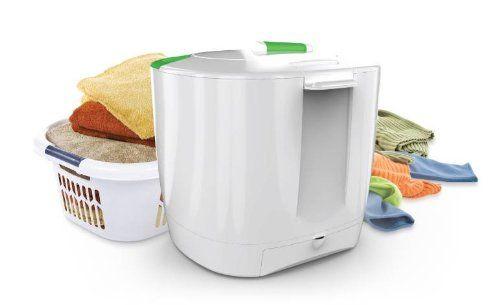 Amazon Com The Laundry Pod White Appliances Portable Laundry