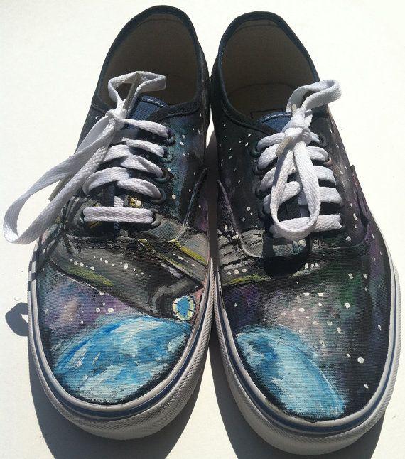 Star Trek Theme Vans Shoes   Vans shoes