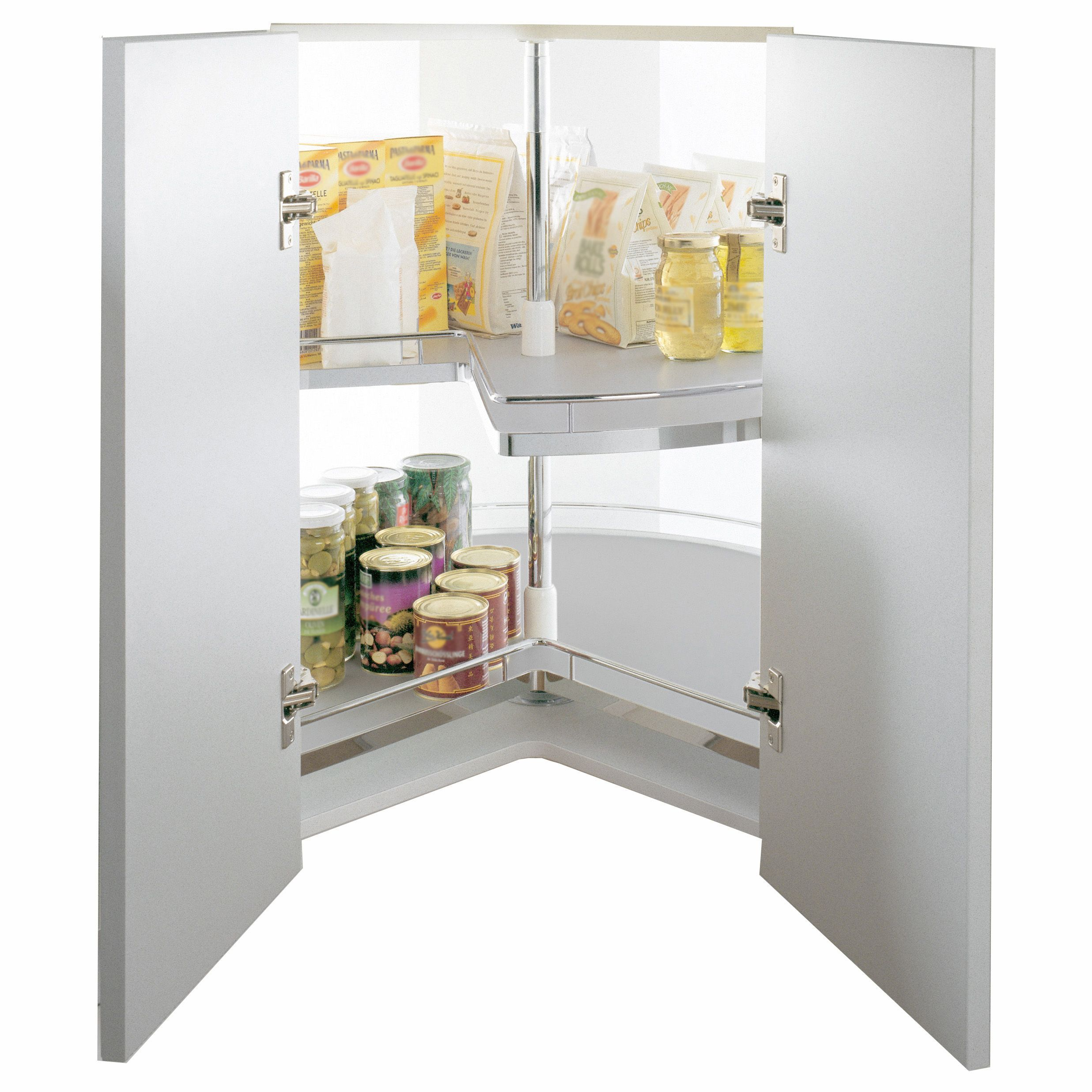Kitchen Cabinet Carousel Corner Kessebhmer Corner Cabinet Three Quarter Carousel 1000mm Diy